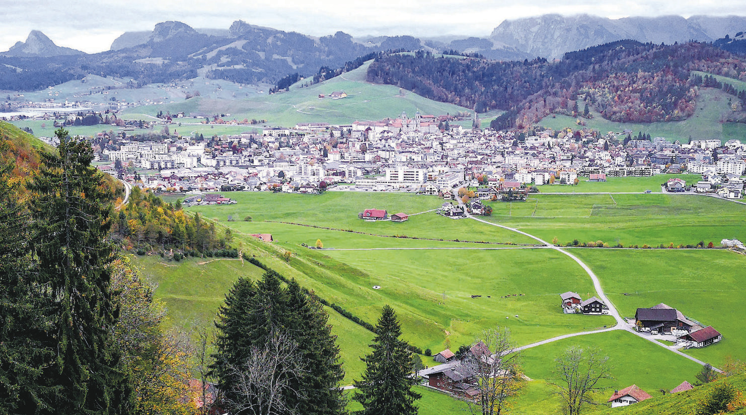 Einsiedeln wächst stärker  als der Kanton Schwyz