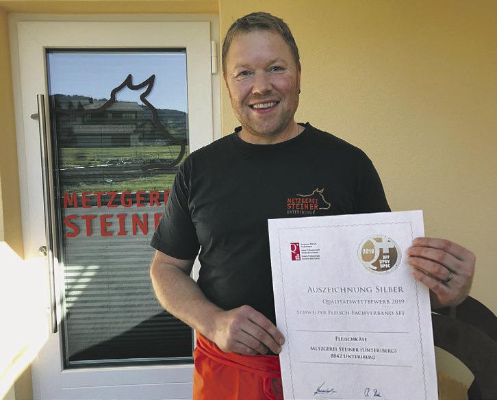 Metzgerei Steiner freut sich über drei Medaillen