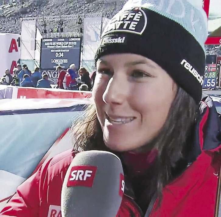 15.Rang und drittbeste Schweizerin