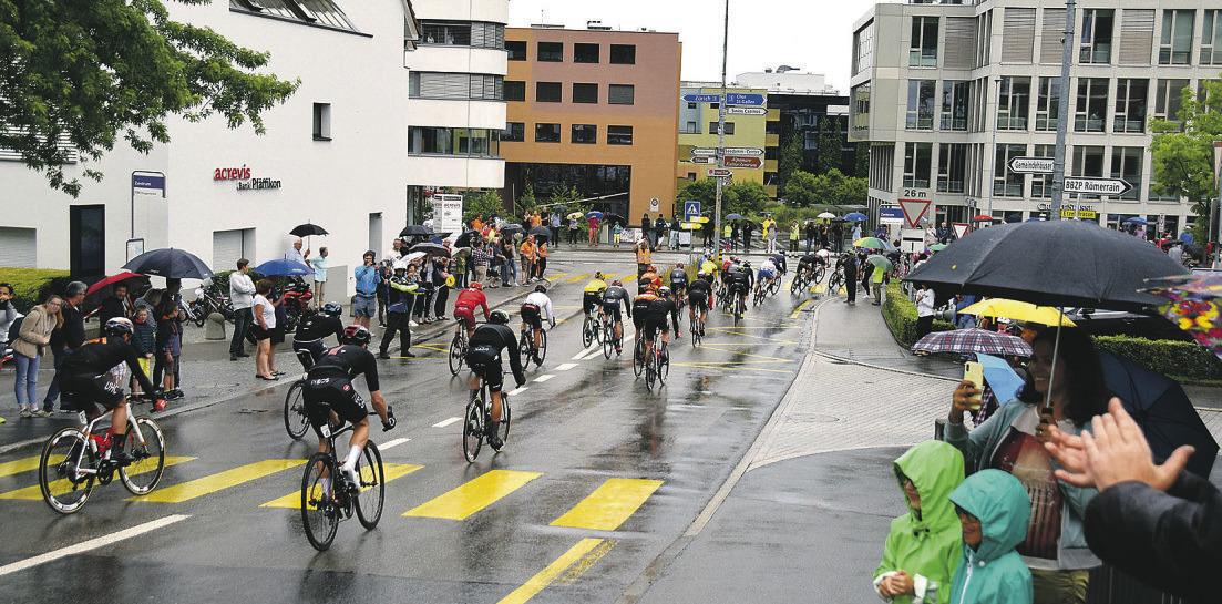 Nächstes Jahr kommt die  Tour de Suisse nach Lachen