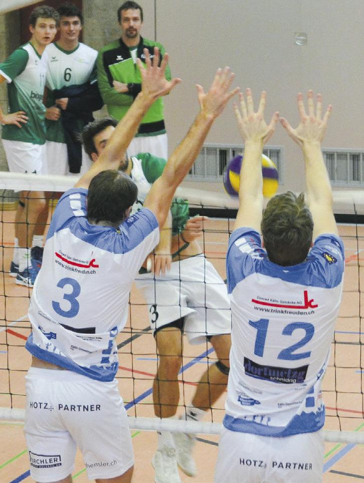 Die Siegesserie der Volleyballer hält an