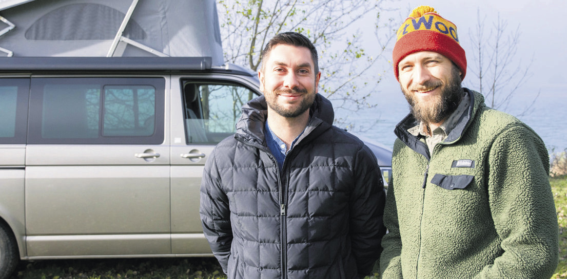 Zwei Einsiedler weisen den Weg in die «Wildnis»