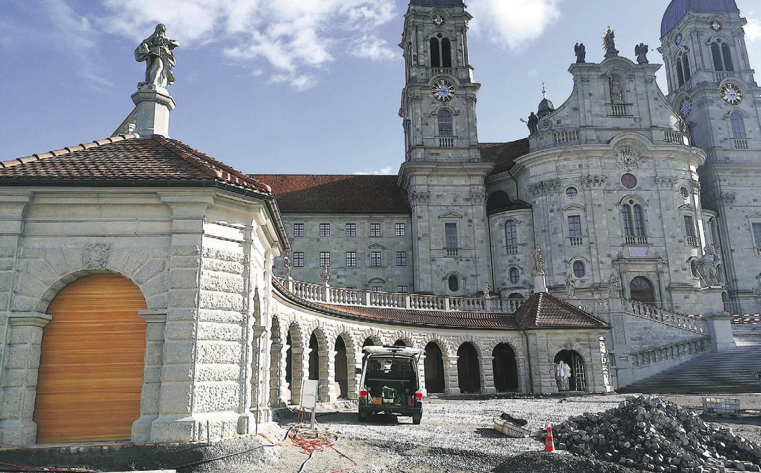 Kloster-Info-Pavillon wird eröffnet