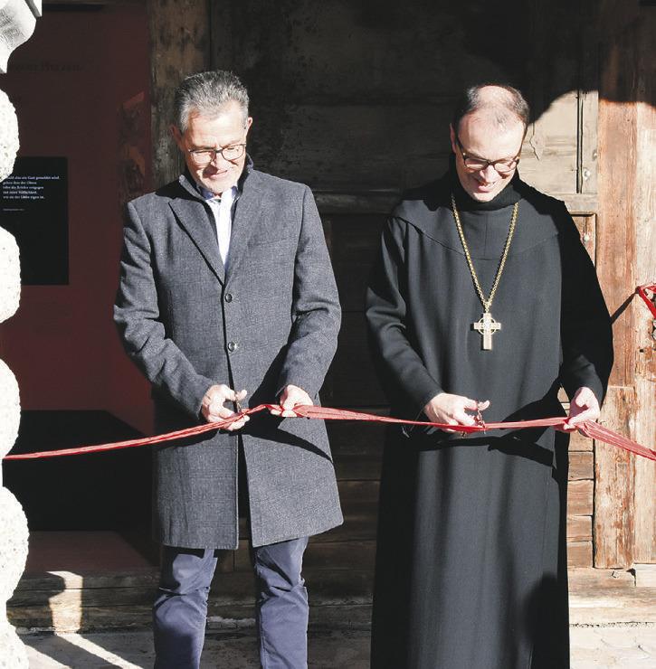 Das Fenster zum Kloster ist geöffnet