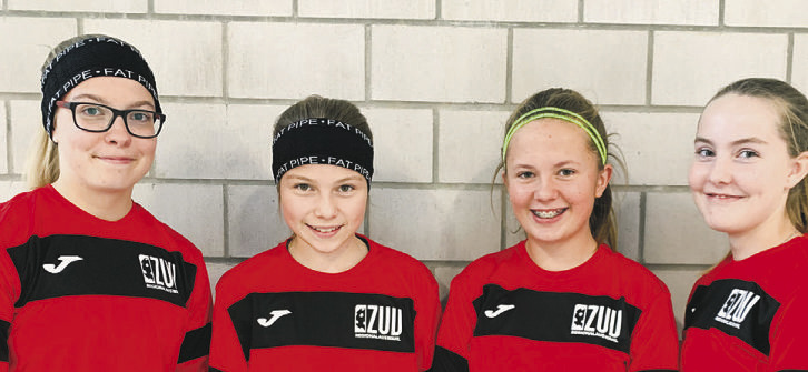Vipers-Juniorinnen  in U15-Auswahl