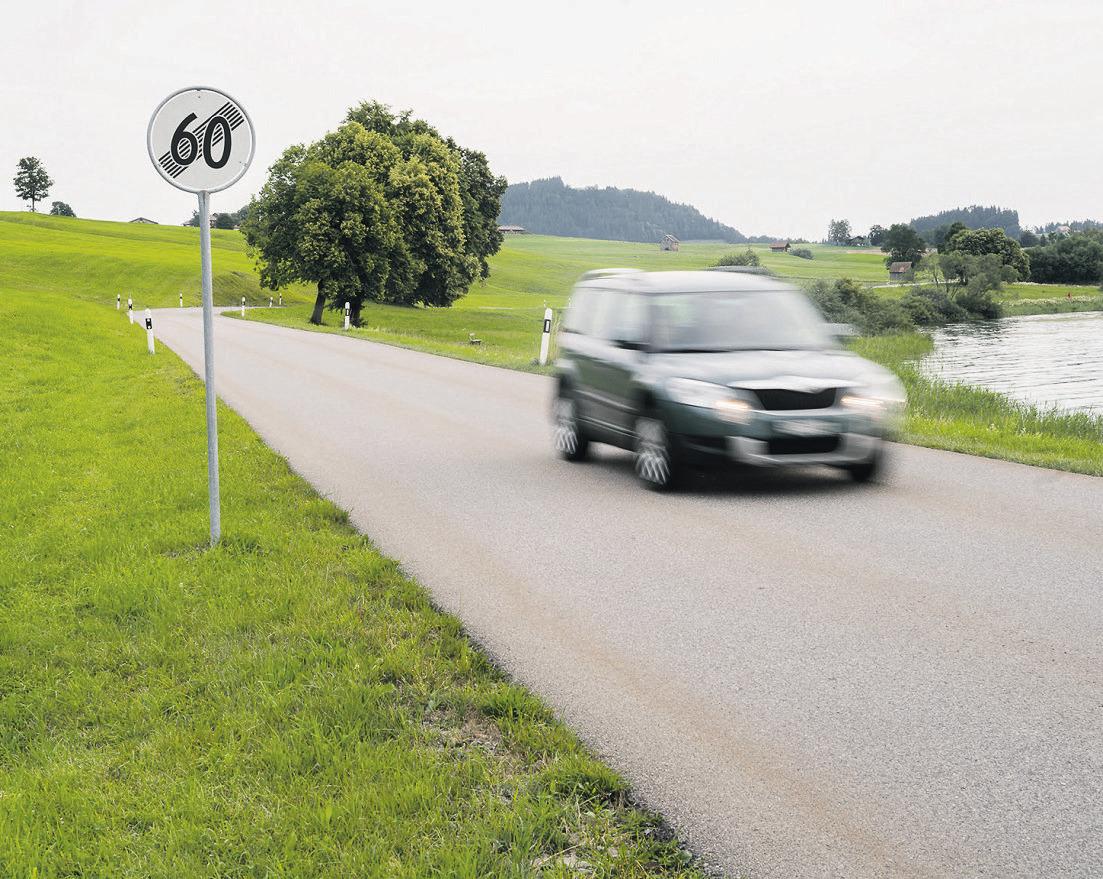 Beschwerde gegen Tempo 60 wird  von Behörden abgeschmettert