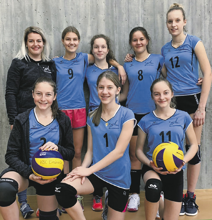 Spieltag der Volleyball-Juniorinnen U17 in Bülach