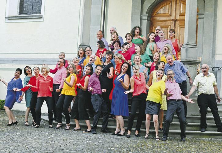 Konzert auch in Einsiedeln