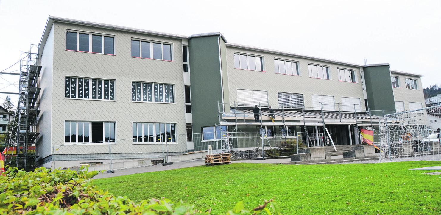 Für das Schulhaus Nordstrasse brauchts einen Zusatzkredit
