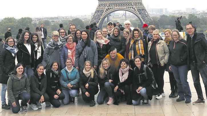 Zum Fünf-Jahr-Jubiläum reiste  MedicoPlus nach Paris