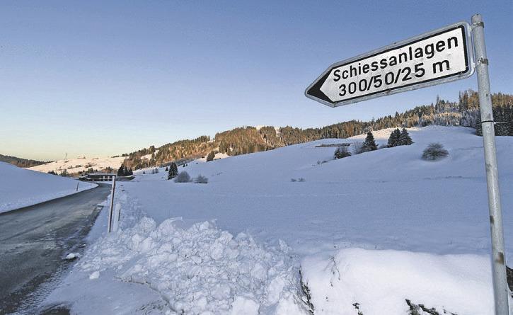 Schiessplatz in Rothenthurm darf nicht betreten werden