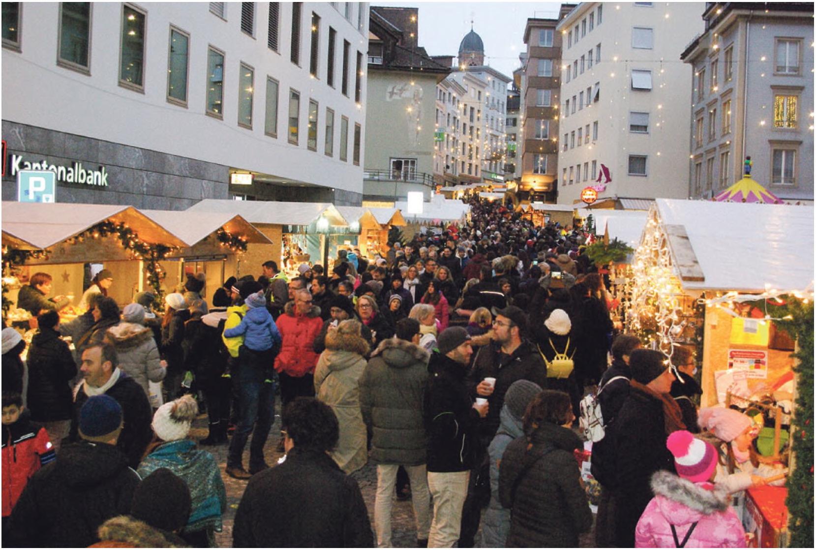 Weihnachtsmarkt lockte rund 80'000 Besucher an