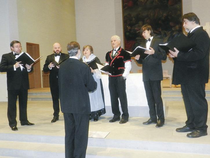 Russisch-orthodoxer Gesang traf auf Schweizer Jodel