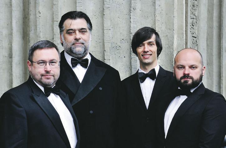 Russisch-orthodoxer Gesang  trifft auf Schweizer Jodel