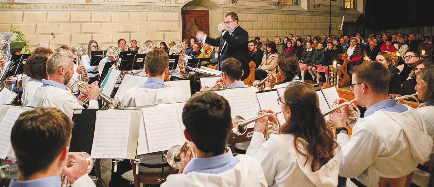 Abwechslungsreiches Konzertprogramm