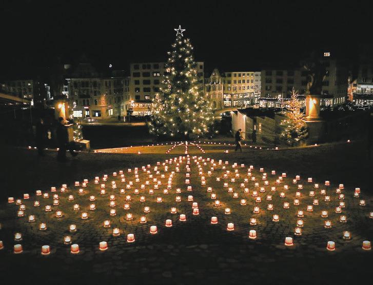 Eine Million Sterne auf dem Klosterplatz