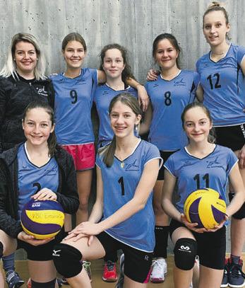 Juniorinnen U17 am  Spieltag in Wetzikon