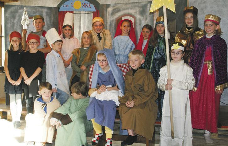 Kinderweihnacht der reformierten Kirche