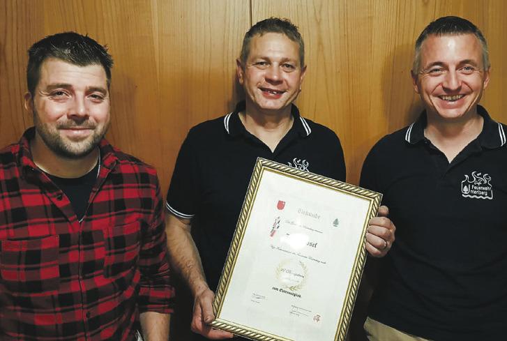 27 Jahre im Dienst für die Feuerwehr