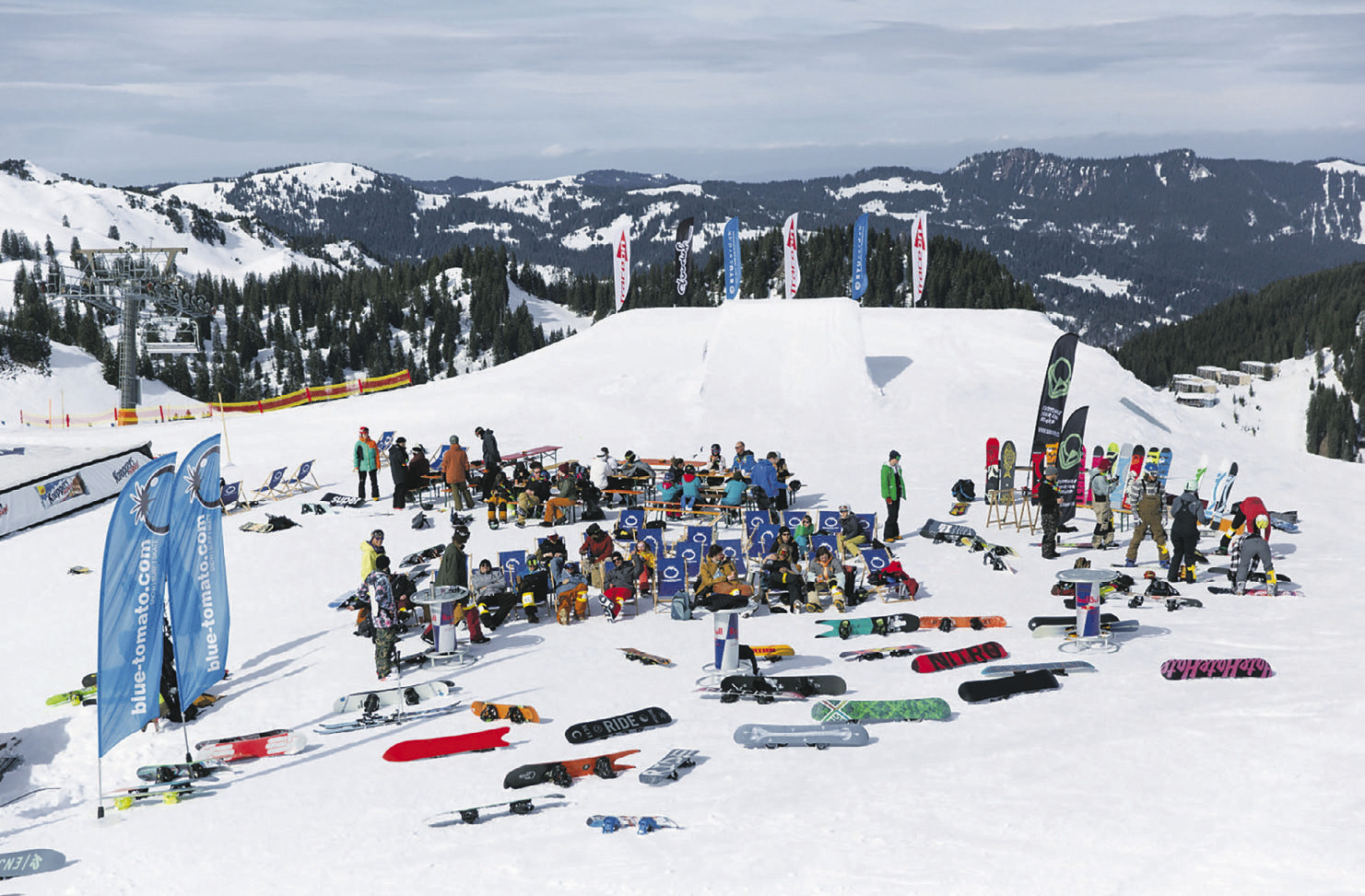 20 Jahre NBC Snowpark Hoch-Ybrig