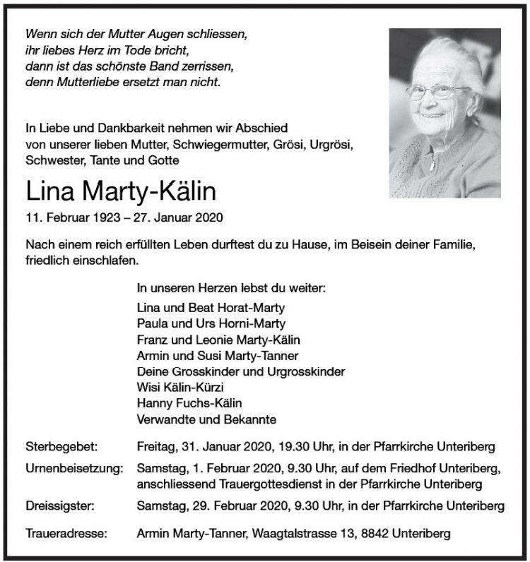 Lina Marty-Kälin
