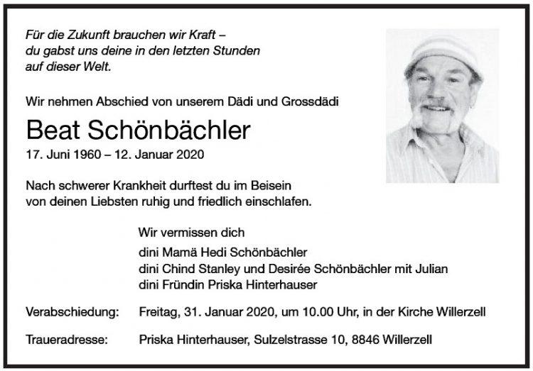 Beat Schönbächler
