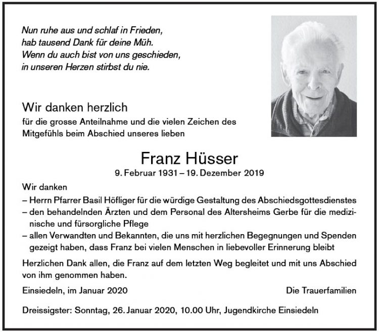Franz Hüsser