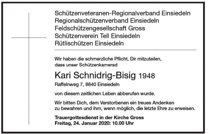 Kari Schnidrig-Bisig 1948