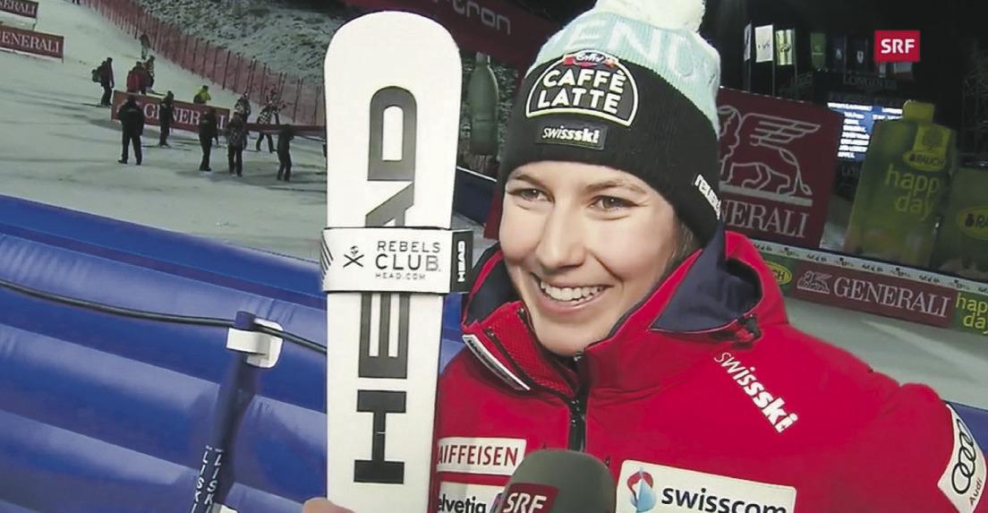 Wendy Holdener meldete sich im Slalom zurück