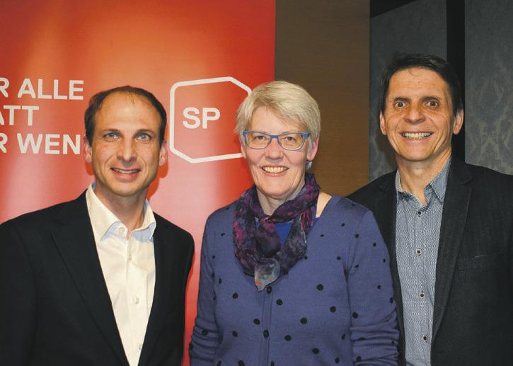Die kantonale SP steigt mit einem  Zweierticket in die Regierungsratswahlen