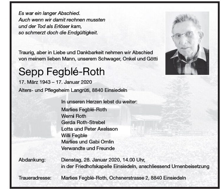 Sepp Fegblé-Roth