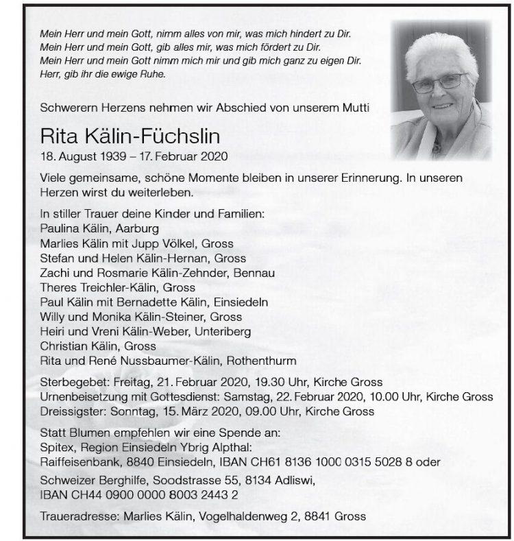 Rita Kälin-Füchslin