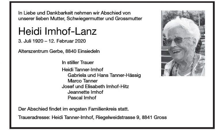 Heidi Imhof-Lanz