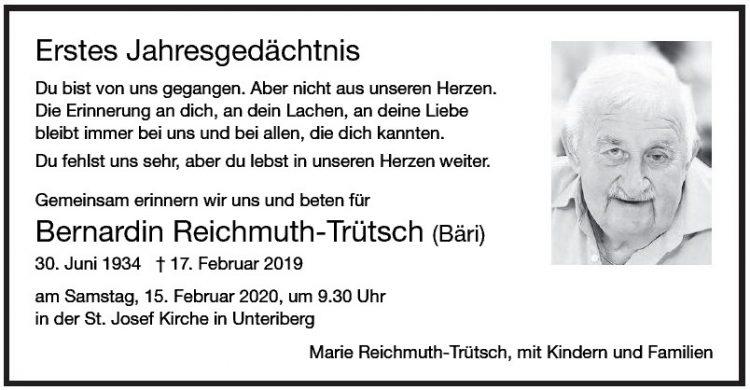 Bernardin Reichmuth-Trütsch 1.JG