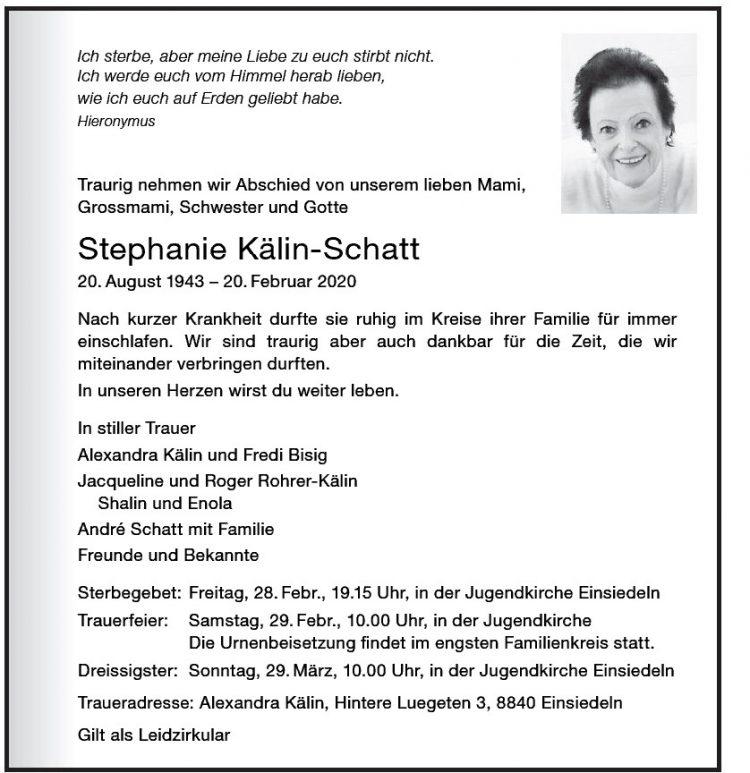 Stephanie Kälin-Schatt