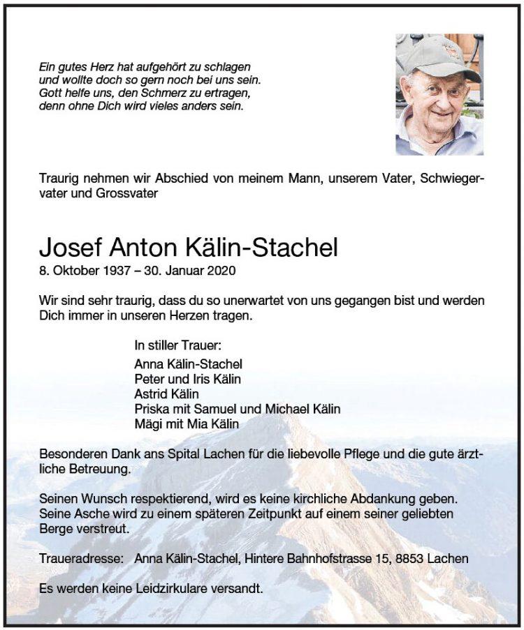 Josef Anton Kälin-Stachel