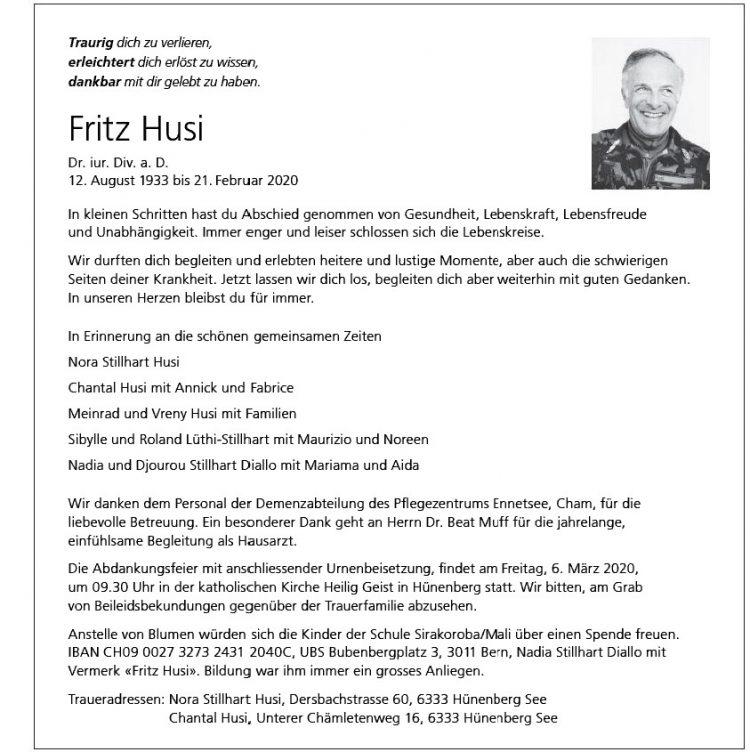 Fritz Husi