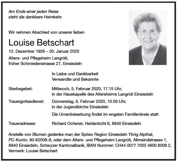 Louise Betschart