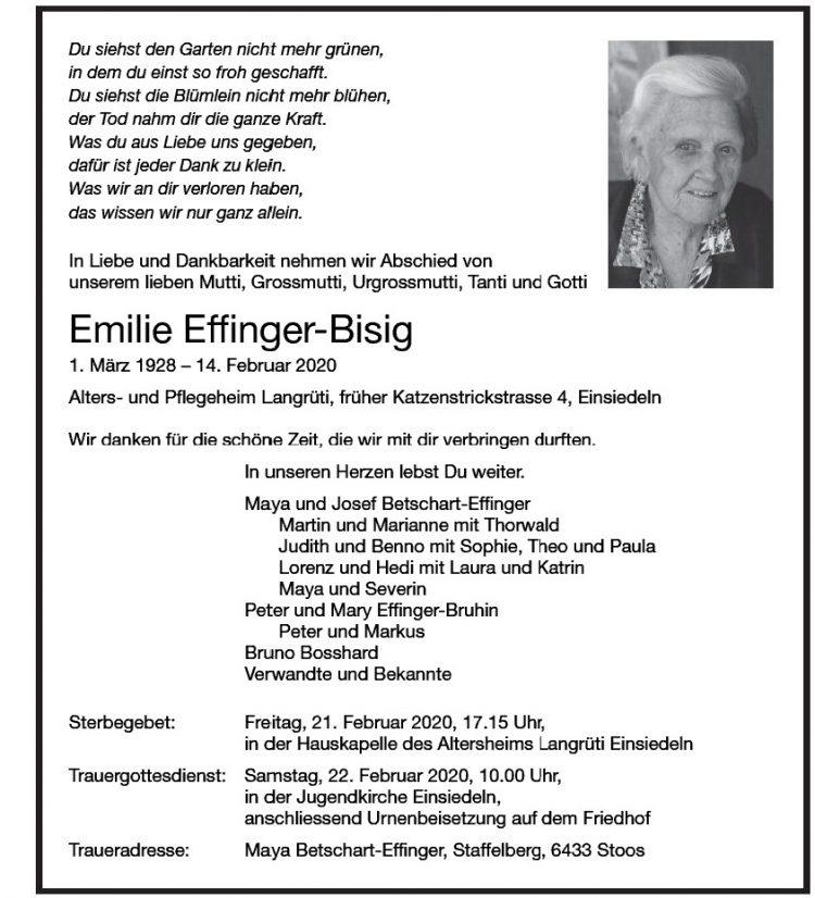 Emilie Effinger-Bisig