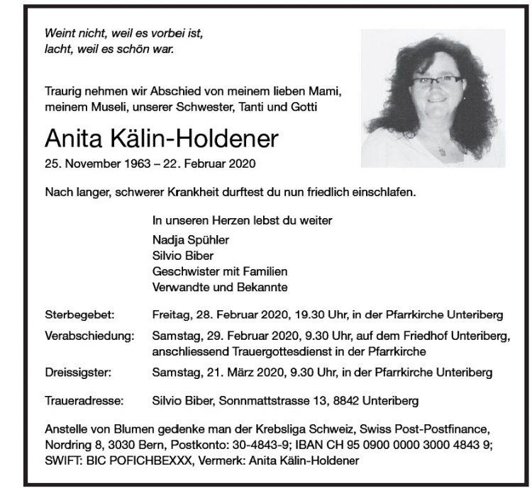 Anita Kälin-Holdener