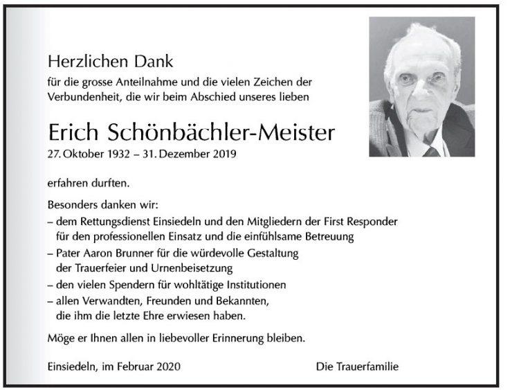 Erich Schönbächler-Meister