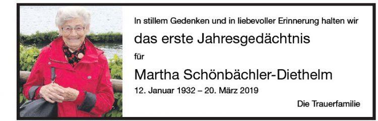 Martha Schönbächler Dietlhelm  1.JG