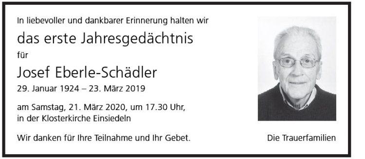 Josef Eberle-Schädler  1.JG
