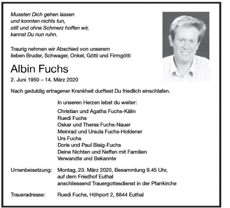 Albin Fuchs
