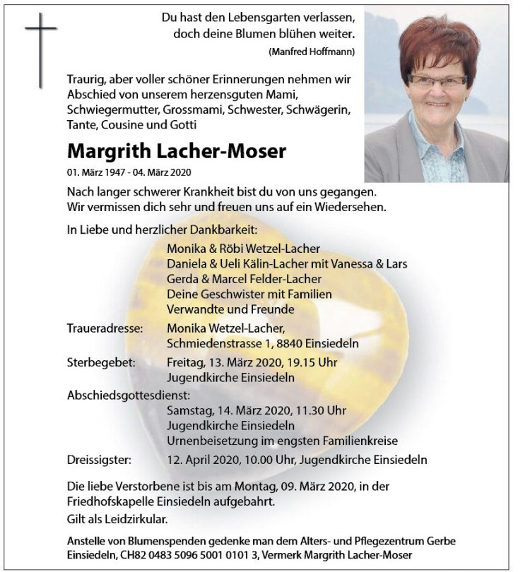 Margrith Lacher-Moser