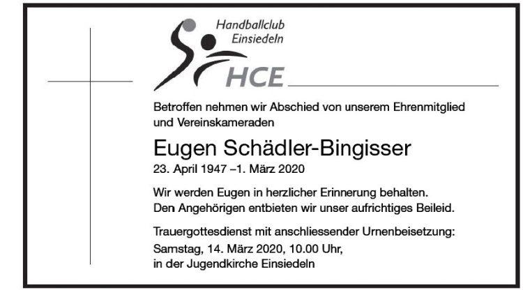 Eugen Schädler-Bingisser