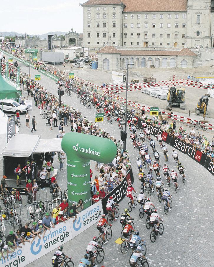 Die Tour de Suisse kehrt im nächsten Jahr nach Lachen zurück