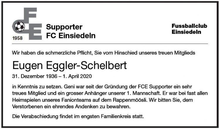 Eugen Eggler-Schelbert