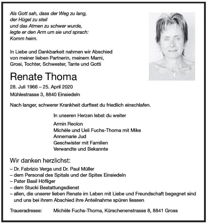 Renate Thoma