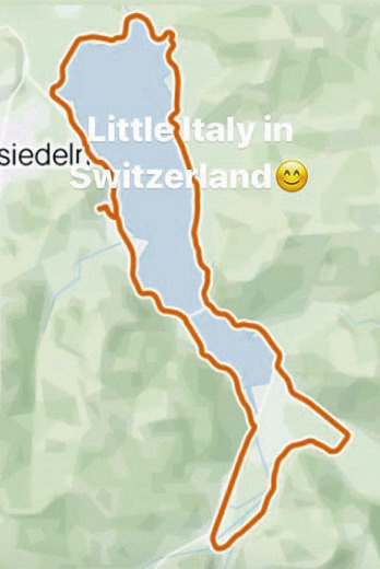 Auch wenn die Grenzen zu Italien